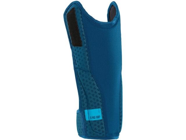 ION S_Pad_Amp Protège-tibia, ocean blue